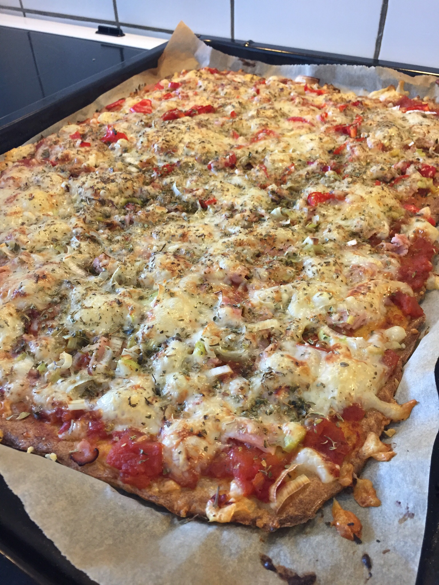 pizza lchf ost